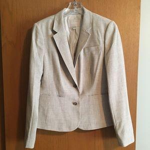Banana Republic creme size 10 blazer.